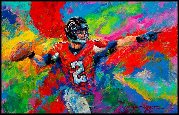 Matt Ryan Atlanta Falcons Art Football Quarterback